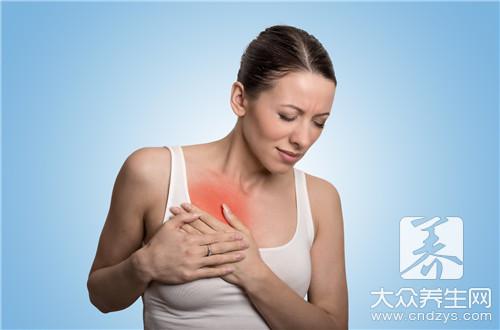 乳房按压疼痛
